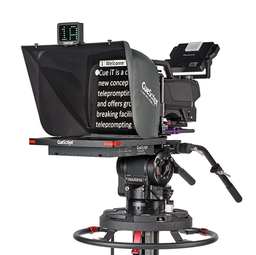 CueScript launches its CSM17 Prompter Monitor at the 2014 Nab Show